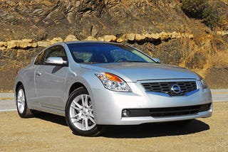 Illustration for article titled Is the Nissan Altima Coupe the Most Unmemorable Car?
