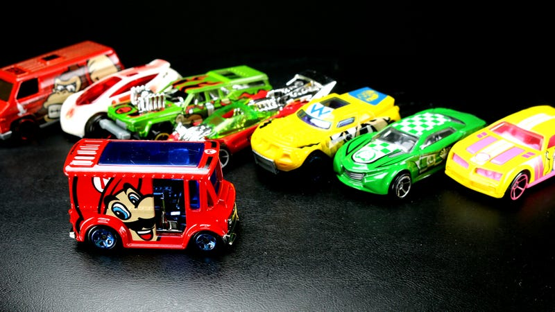 Illustration for article titled Super Mario Hot Wheels, Ranked