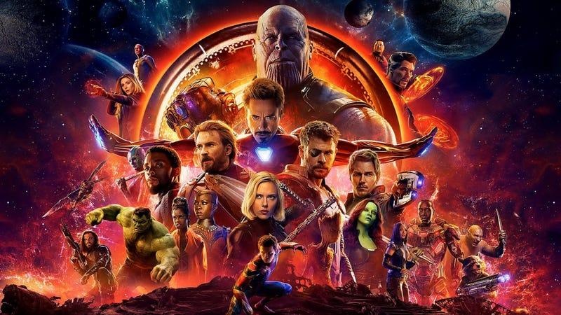 Illustration for article titled Hay un fallo de Photoshop en el último póster de Avengers: Infinity War. ¿Puedes encontrarlo?
