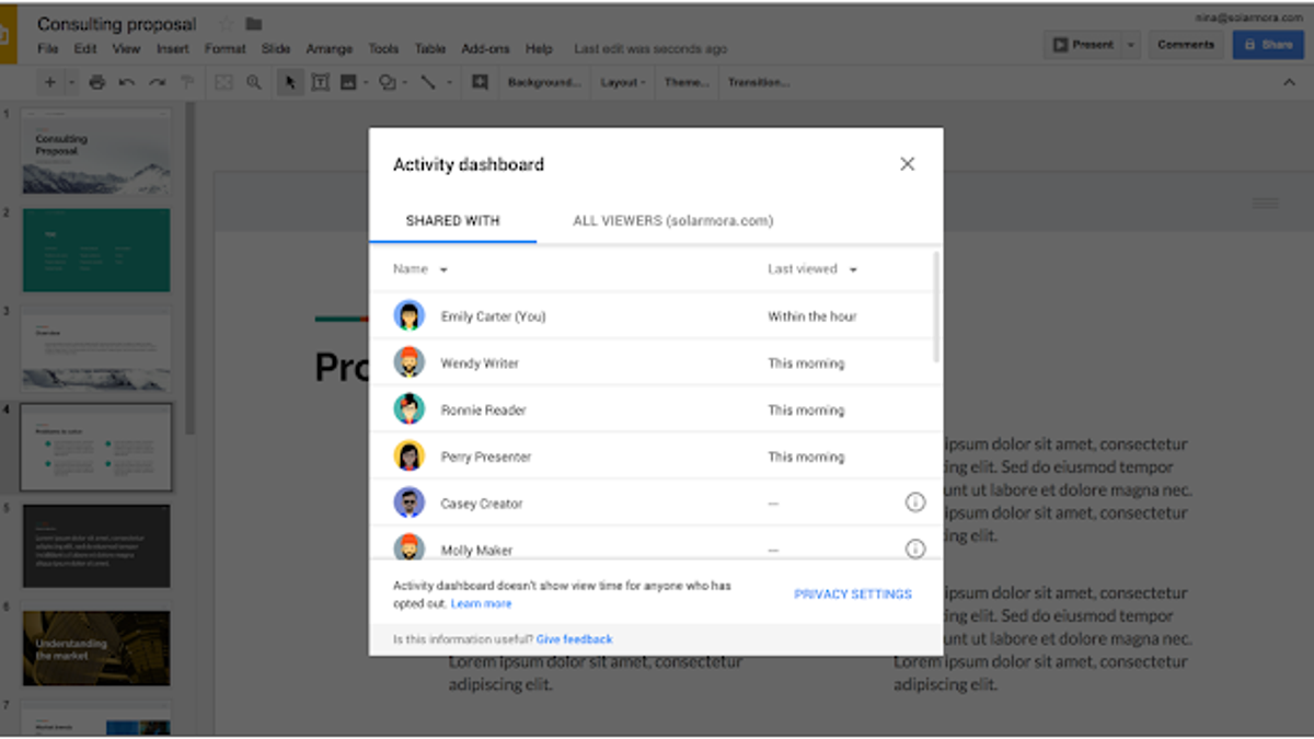 How to Use Google Drive's New 'View History' Feature