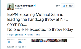 Illustration for article titled Old Asshole Golfer Has Thought About Michael Sam