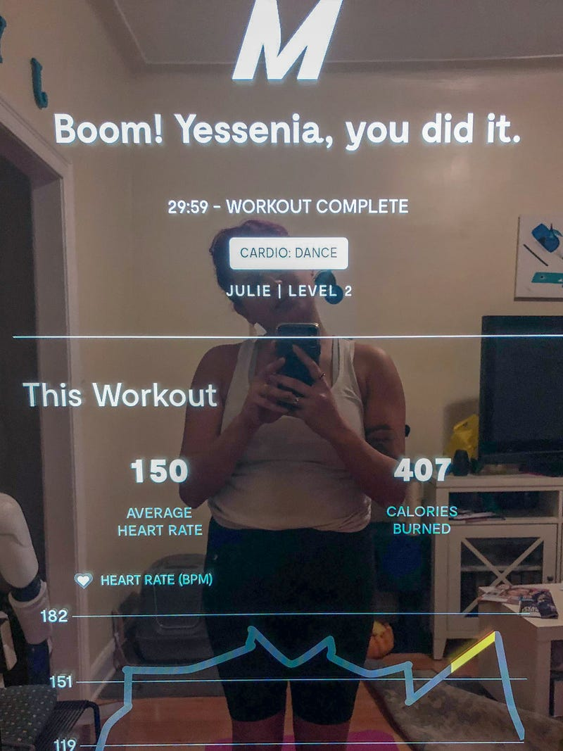 Mirror Review: This Mirror Workout Has Me Sweating the Small