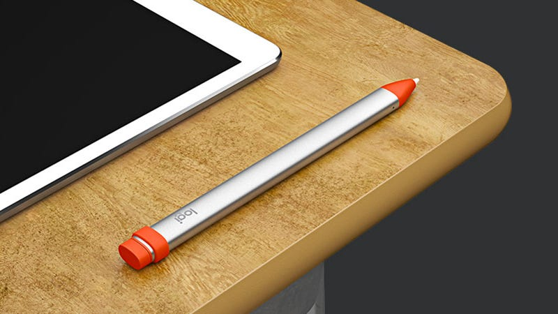 Illustration for article titled Logitech's $49 Crayon Is a Stubbier, Cheaper Apple Pencil