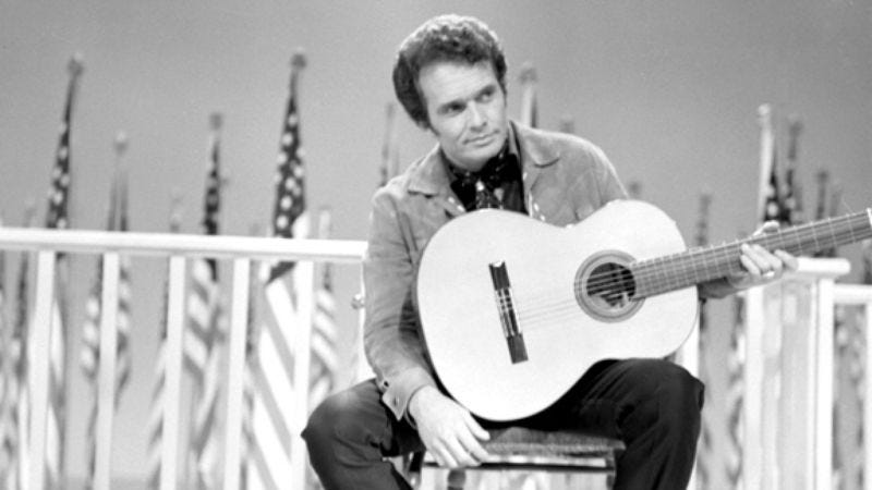 Illustration for article titled Week 8: Merle Haggard, poet of Poverty Row