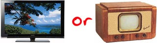Illustration for article titled Question of the Day: HDTV or SDTV?