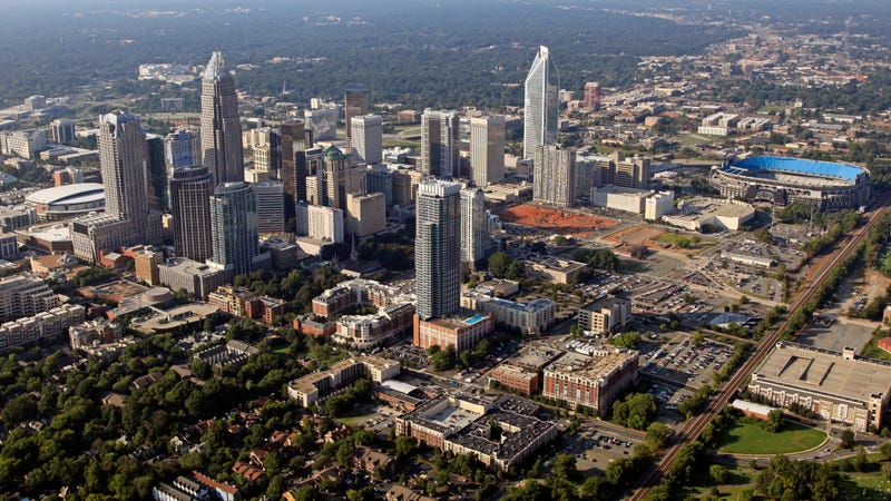 The skyline of downtown Charlotte, N.C. Photo: AP