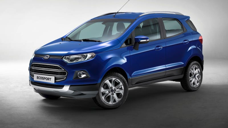 Illustration for article titled Ford Uses Facebook® to Launch All-New Ecosport 'Limited Edition'