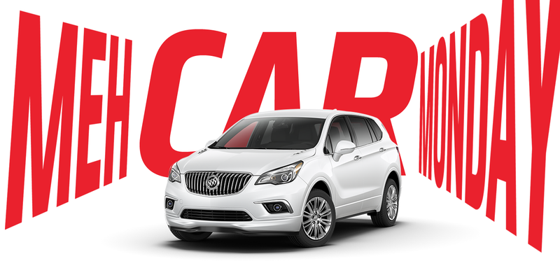 Illustration for article titled Meh Car Monday: Envision Ennui With The Buick Envision