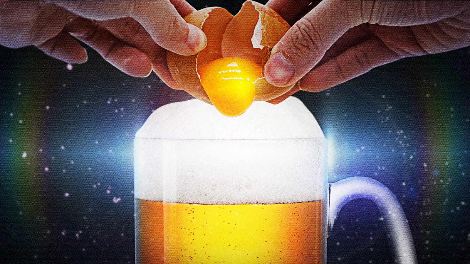Beer flips are the beer-and-whole egg cocktail—wait, hear me out