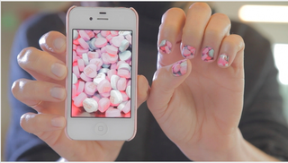 Illustration for article titled This App Would Turn Your Phone Photos Into Personalized Nail Art