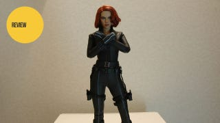 Illustration for article titled This Avengers Black Widow Figure Has Fabulous Hair