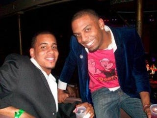 Marcus Penny, left, and Tony Anderson