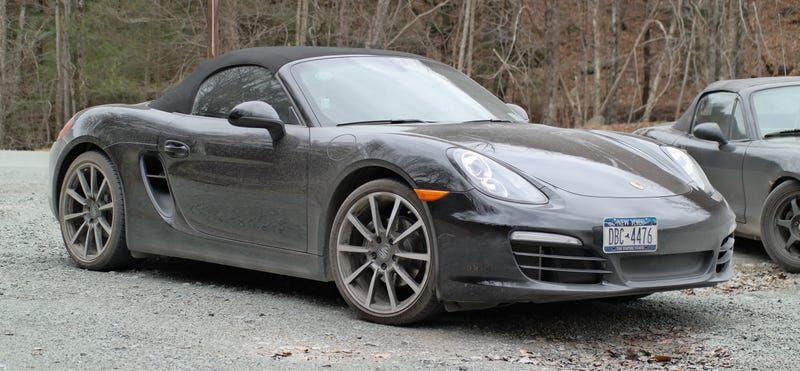 Illustration for article titled I accidentally off-roaded the Boxster