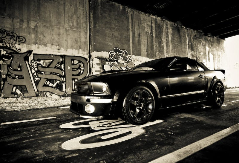 Illustration for article titled 2009 ROUSH Mustang Blackjack: First Drive