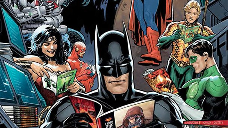 DC Graphic Novel Essentials Chronology 2013 cover by Ryan Sook