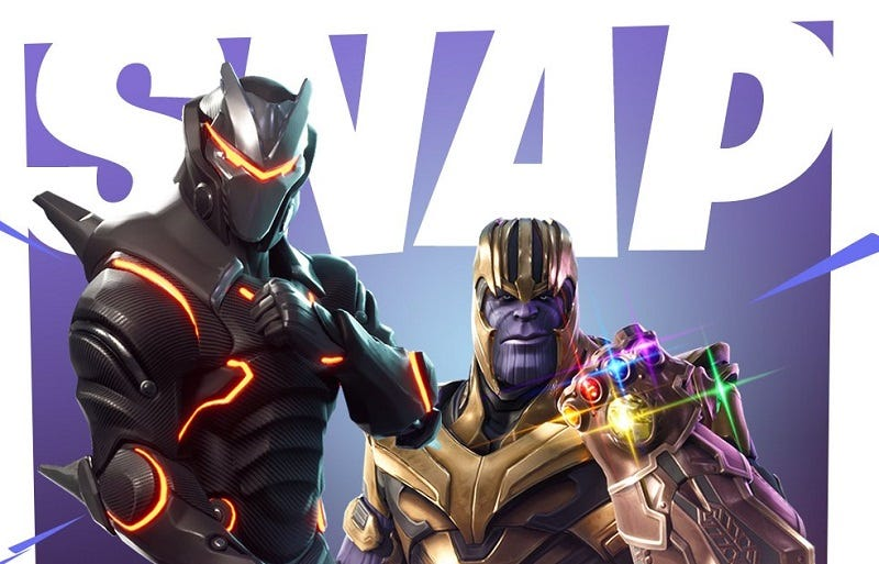 Illustration for article titled Fortnite Is Getting An Avengers: Infinity War Crossover