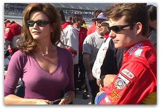 Illustration for article titled Jeff Gordon's Ex-Wife Being Sued For Naming Her Son After Him