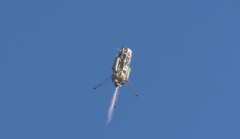 Illustration for article titled Nuevo sistema de aterrizaje de la NASA varía ruta en pleno descenso