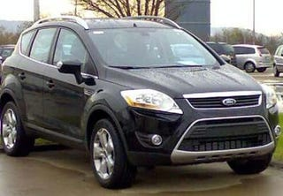 Illustration for article titled Production Ford Kuga Spied in Wild