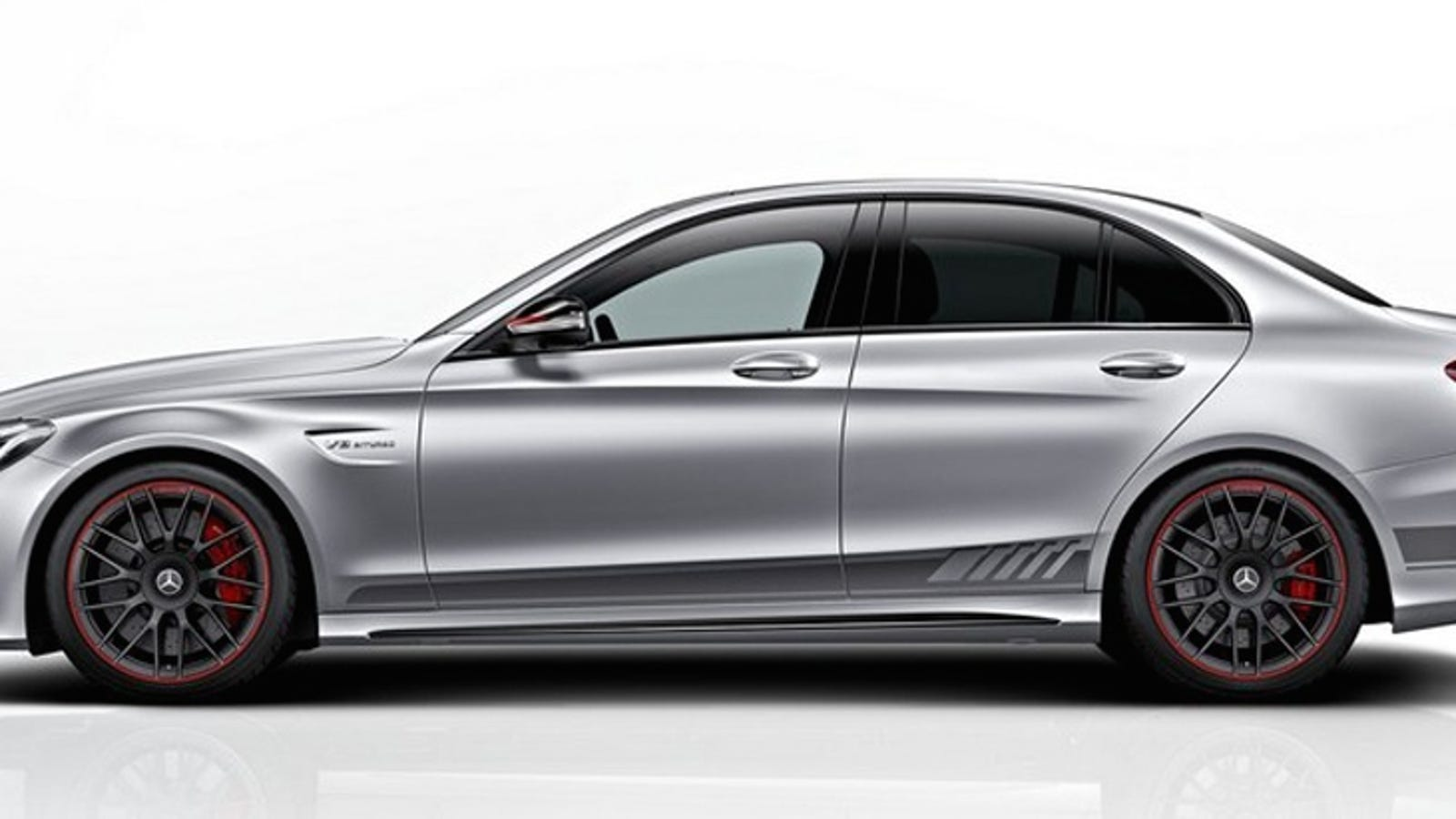 The MercedesAMG C63 Edition 1 Is Your 503 HP AMG Status Symbol