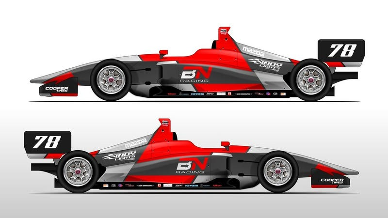 Illustration for article titled Here's Hoping That Indy Lights Will Field More Than Seven Cars in 2019