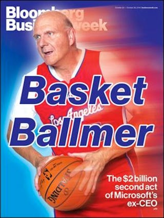 Illustration for article titled Ballin'-Ass Steve Ballmer And His Dead Eyes Are Here To Frighten You