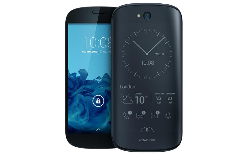 Illustration for article titled El smartphone de doble pantalla Yotaphone 2, ya a la venta en Europa