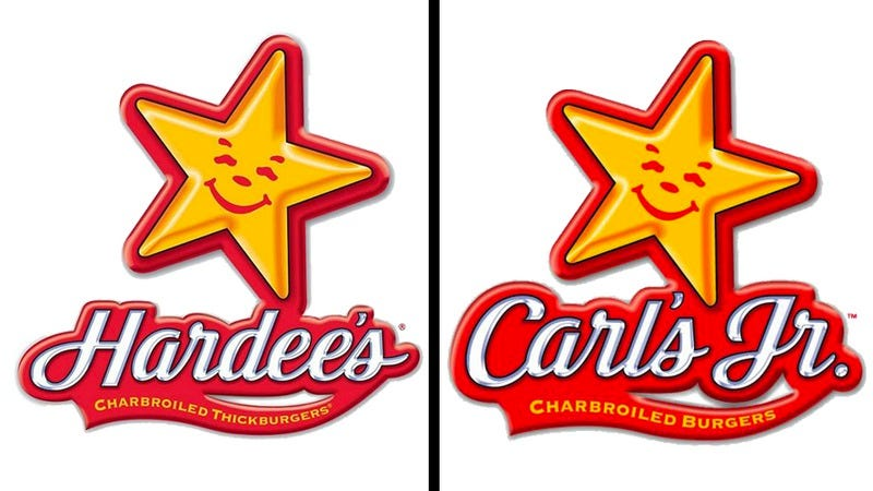 Illustration for article titled Behold: the great Hardee's/Carl's Jr. divide
