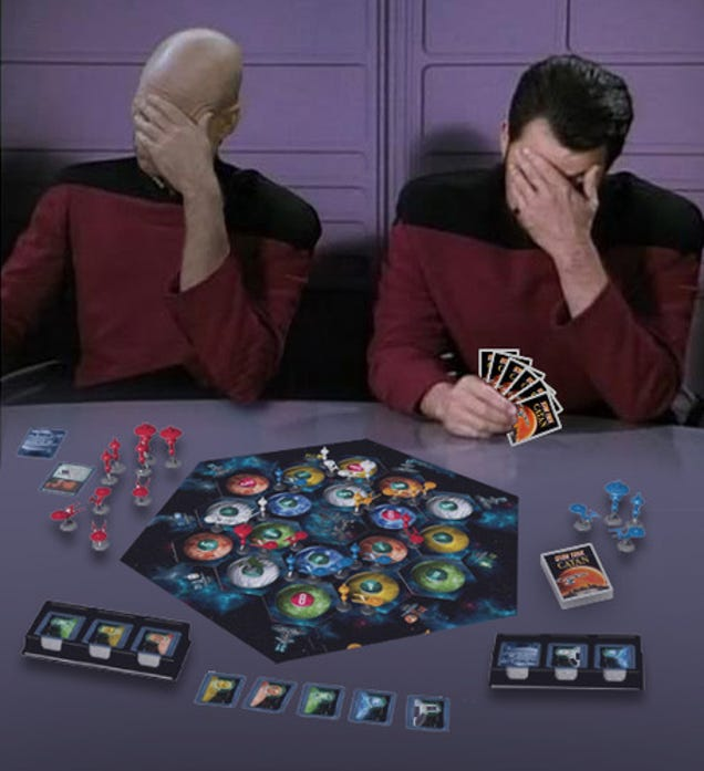 Image result for settlers of catan star trek