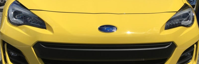Illustration for article titled 2017 Subaru BRZ Series.Yellow