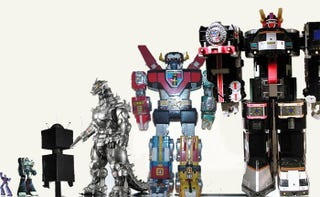 Illustration for article titled Who's The Tallest Giant Robot Of Them All?