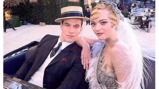 Illustration for article titled Gemma Ward In The Great Gatsby: Fantastic Finger Wave Fabulosity!