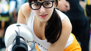Illustration for article titled Hipster Chell Was Inside Aperture Before You Even Knew About Aperture