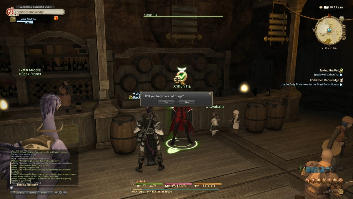 How To Unlock Red Mage And Samurai Jobs In Final Fantasy XIV