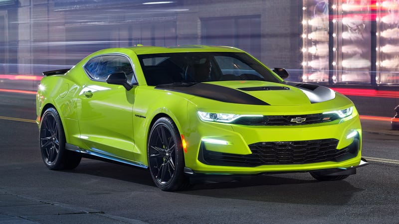 Chevrolet Reportedly Scrambling To Fix The 2019 Camaro Ss Face