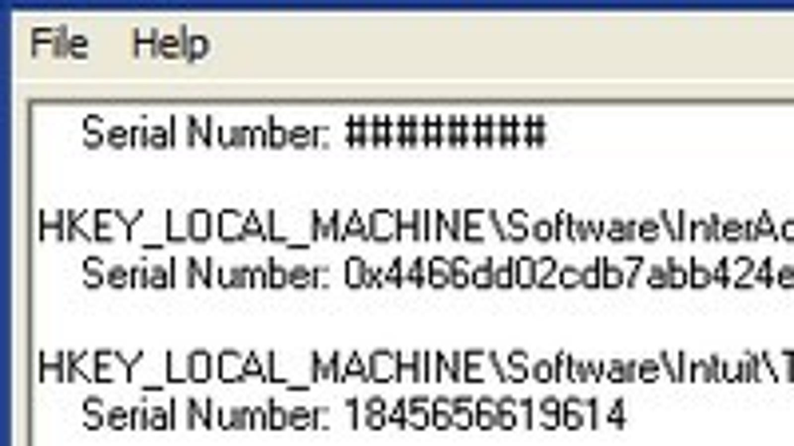 LicenseCrawler Retrieves License Keys for Backup