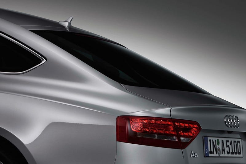 Illustration for article titled Audi A5 Sportback: Practical, Sporty And Sad