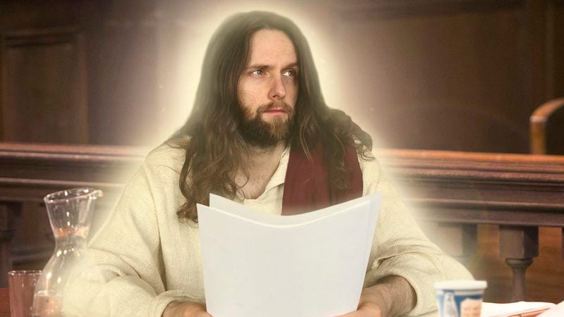 Illustration for article titled Christ Appears In Roman Court To Contest 2,000-Year-Old Riot Charges