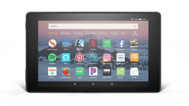 Illustration for article titled La nueva tablet de Amazon tiene una pantalla HD y Alexa en manos libres por solo $80