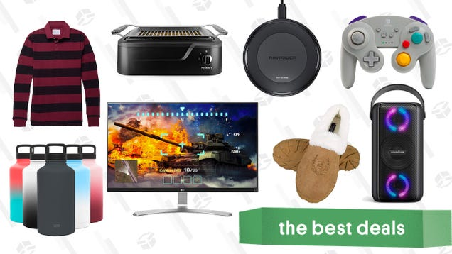 Saturday s Best Deals: Jachs Polos, RAVPower Qi Charger, PowerBeats Pro, LG 4K Monitor, and More