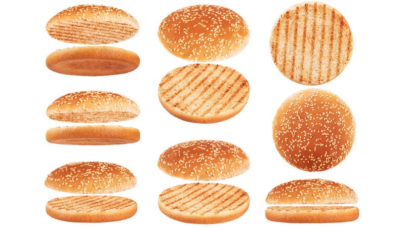 Illustration for article titled Here's a civil discussion about the ideal hamburger bun