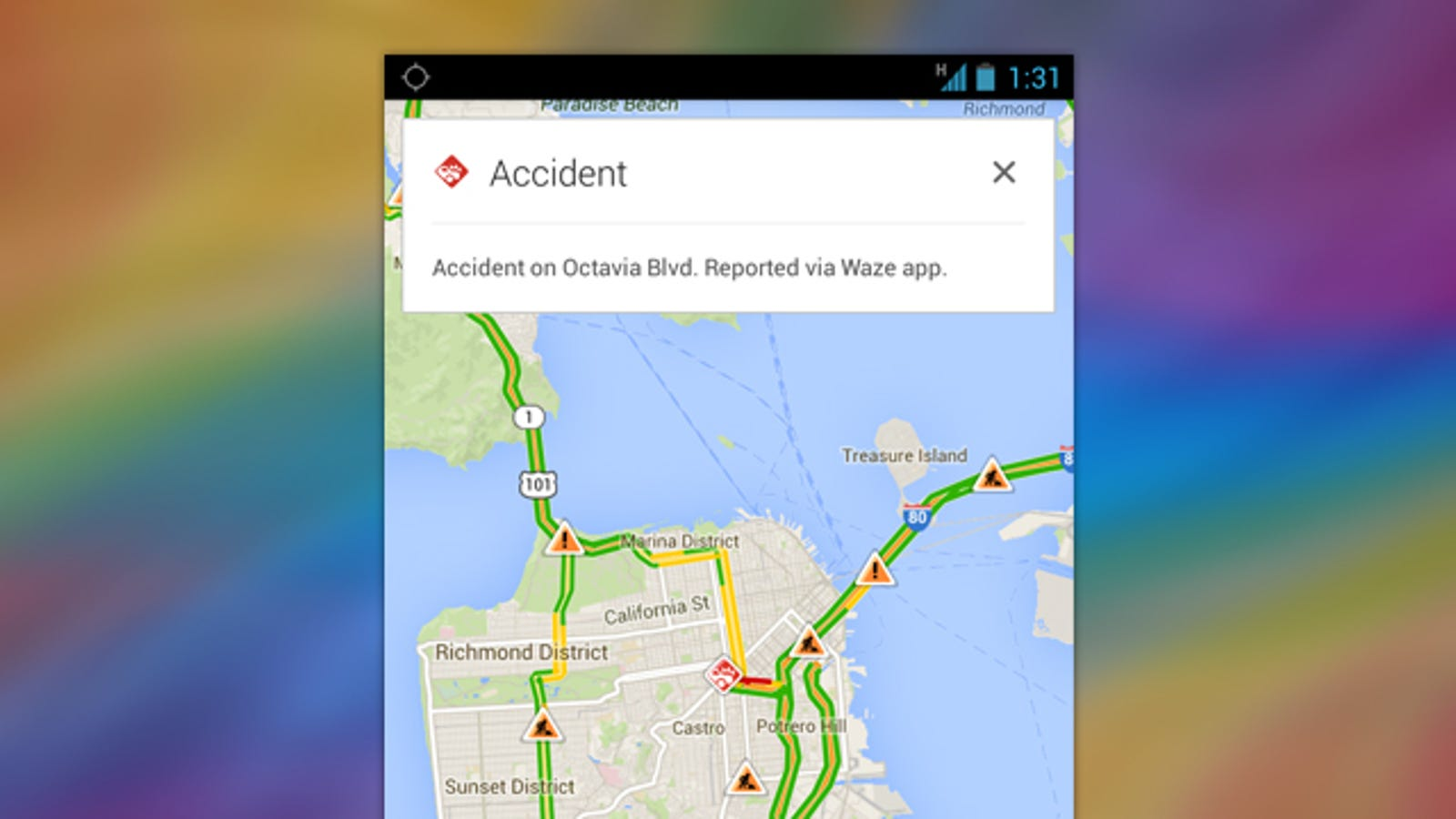 Google Maps Adds Incident Reports from Waze, Waze Gets