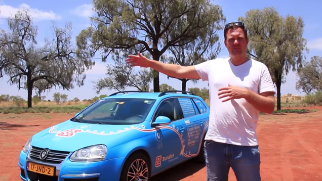 Man Concludes  World s Longest  Trip in Electric Car