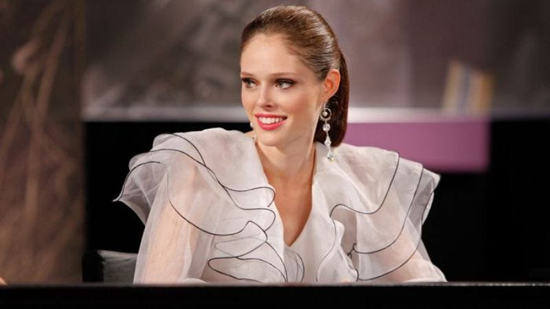 """Illustration for article titled America's Next Top Model: """"Coco Rocha"""""""
