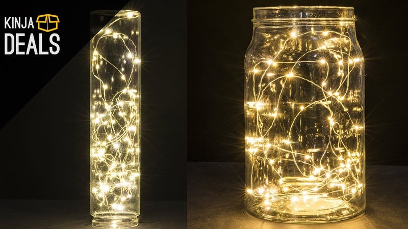 Illustration for article titled Bring Out Your Artistic Side With These Ultra-Cheap String Lights