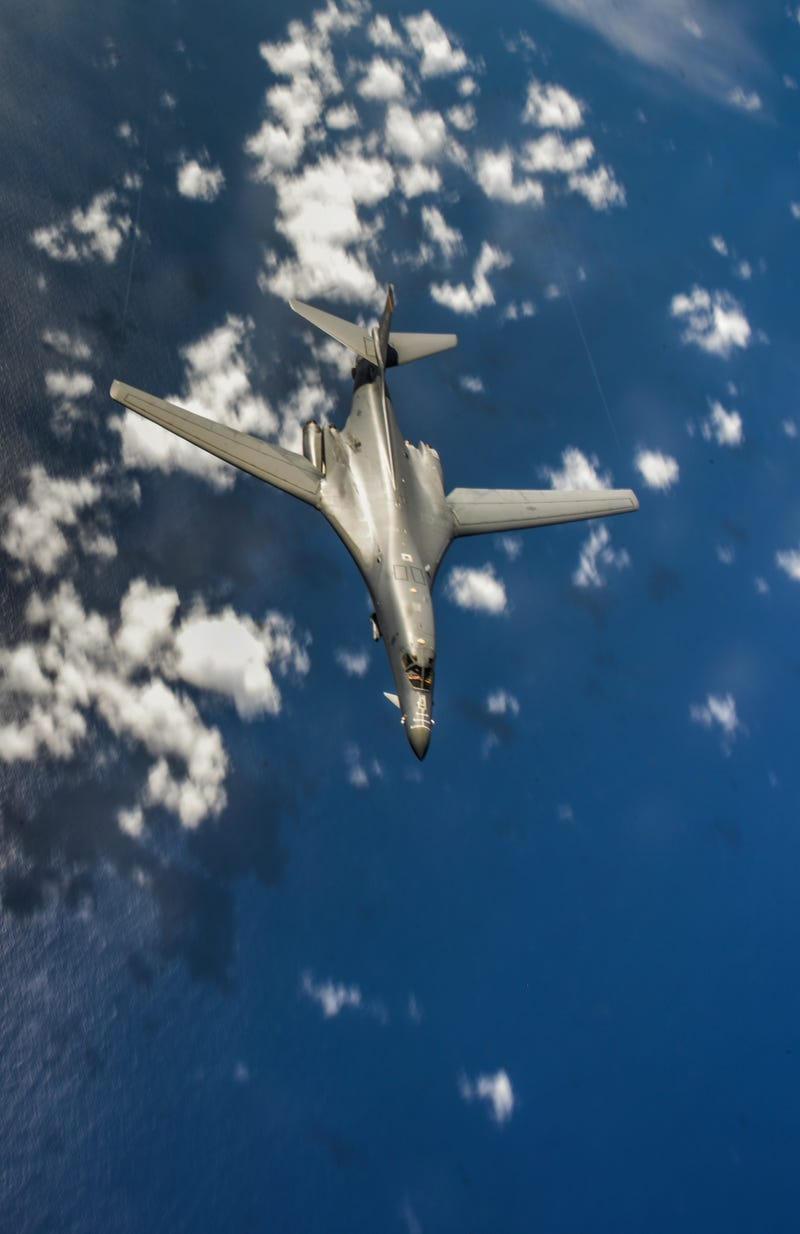 Illustration for article titled B-1B Lancer: The Bone In Guam and Visiting North Korea