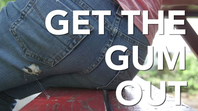 Remove Gum From Clothing With Some Bengay and a Plastic Bag