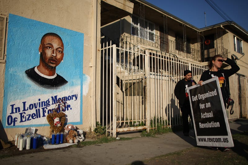 No charges for LAPD officers in killing of black man