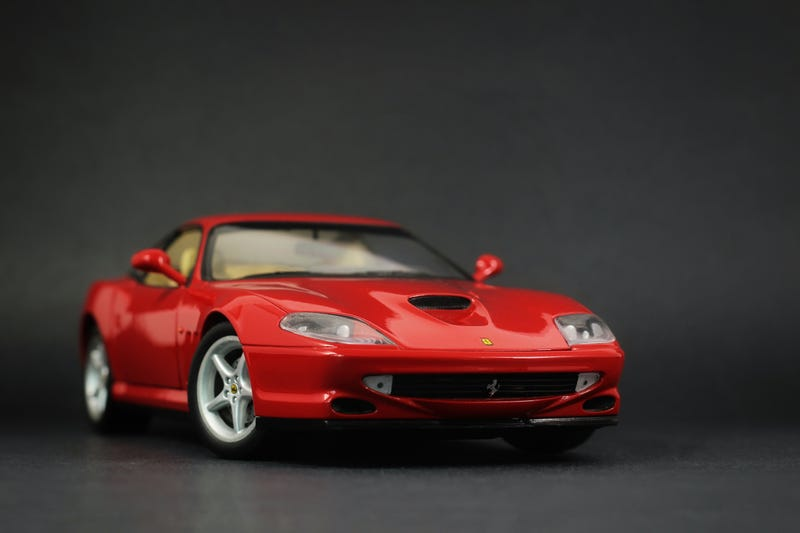 Illustration for article titled Ferrari 550 Maranello from UT Models