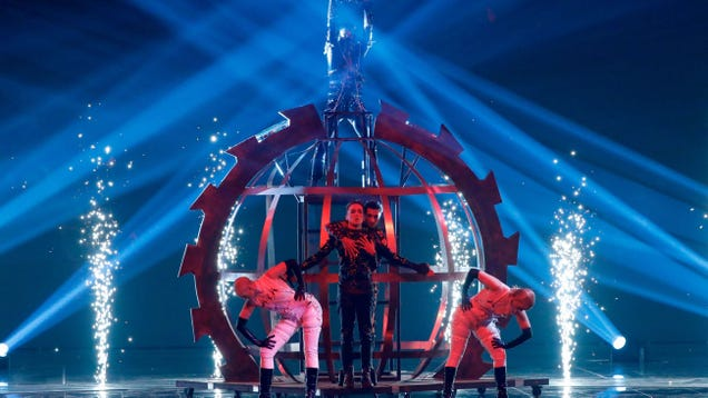 Iceland's Eurovision entry invites families everywhere into the BDSM pain-sphere